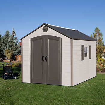 lifetime 8 x 10 storage shed