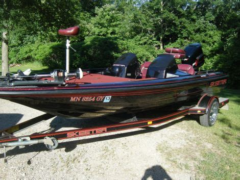 fishing boat for sale mn 1996 skeeter zx200 fishing boat for sale in alexandria mn