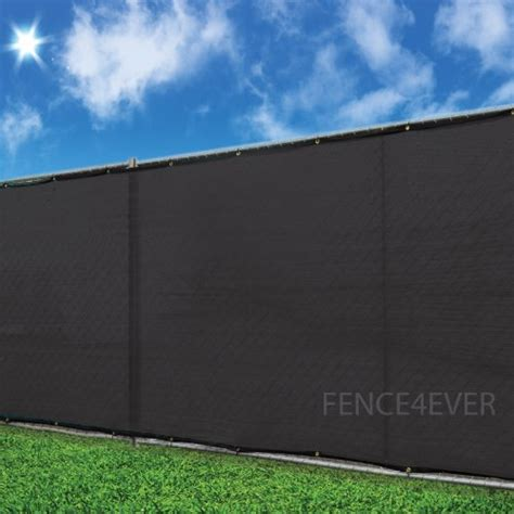 5'x50' Black Fence Cover Privacy Screen Windscreen Shade