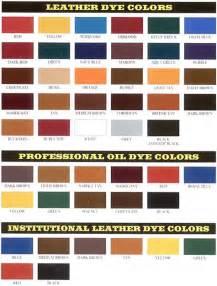 color dye fiebings leather dye color chart best leather dye photos