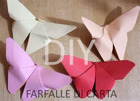 origami tutorial ita origami tutorial farfalle di carta origami tutorial