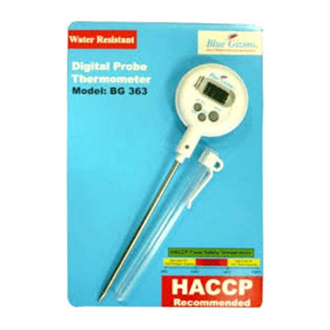 Thermometer Blue Gizmo blue gizmo digital probe thermometer bg363 white