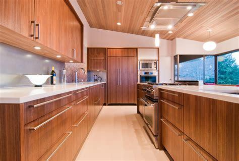 modern kitchen walnut veneer cabinets with aluminum trim veneering 101 build blog