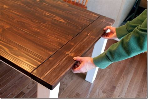 table with slide out leaves diy farmhouse table with extension leaves with plans