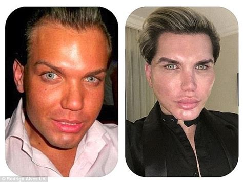 human ken doll before and after human ken doll rodrigo alves plans his tenth nose job
