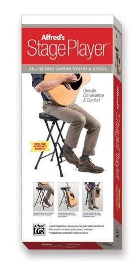 Alfreds Stageplayer Guitar Stand And Stool by Alfred S Stageplayer Guitar Stand Stool