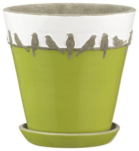 Indoor Planters With Saucers by Perch Pot With Saucer Indoor Pots And