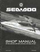 Bombardier Seadoo 1995 Factory Shop Manual 8 95