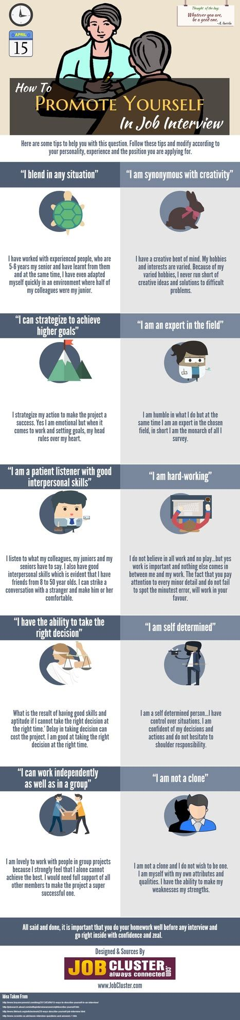 Resume Tips Promotions by Self Promotion In Infographic