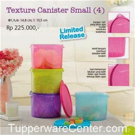 Tupperware Texture Canister Set 3pcs shopping tupperware edisi januari 2014 4