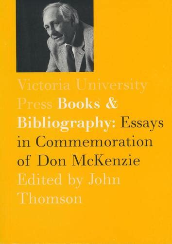 up up essays books books and bibliography essays in commemoration of don