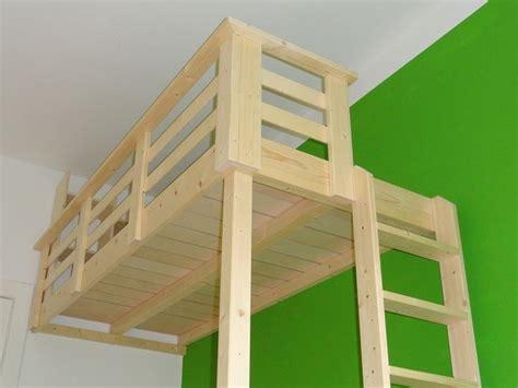 hochbett aus normalem bett bauen 220 ber 1 000 ideen zu hochbett selber bauen auf