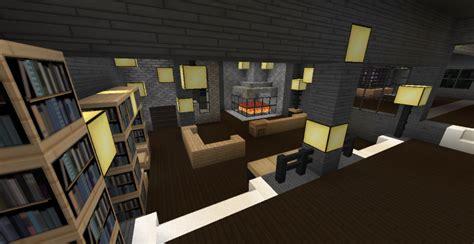 minecraft modern living room modern minecraft mansion living room by thefawksyartist