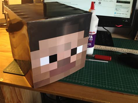 How To Make A Minecraft Steve Out Of Paper - create your own minecraft steve