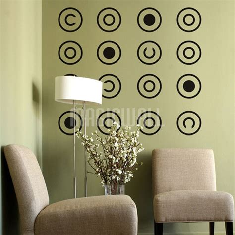 pattern wall decals canada wall stickers circle pattern wall decals canada