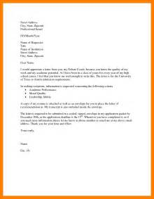 Request Letter Format And Exle 9 Formal Request Email Producer Resume