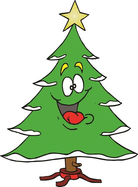 christmas tree christmas tree cartoon images clipart best