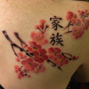 plum blossom tattoo moogan r s reviews gilbert yelp