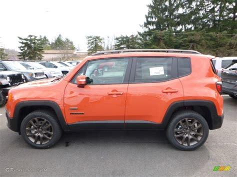 orange jeep 2016 omaha orange 2016 jeep renegade latitude 4x4 exterior