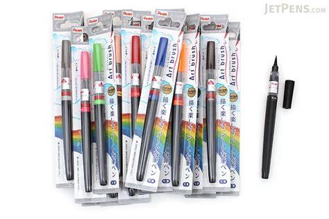 pentel color brush pentel brush pen 18 color bundle jetpens
