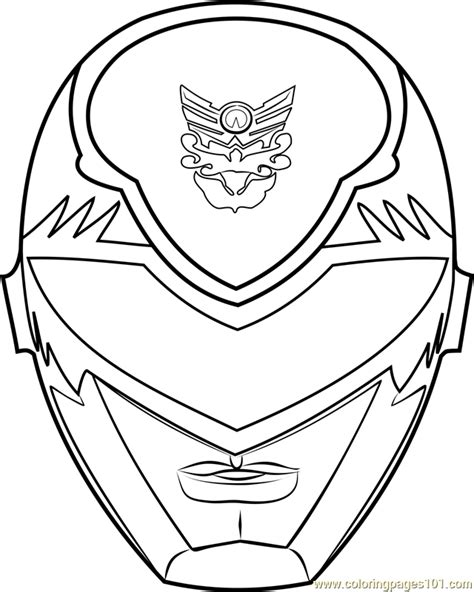 Power Rangers Helmet Coloring Pages | power ranger mask coloring page free power rangers