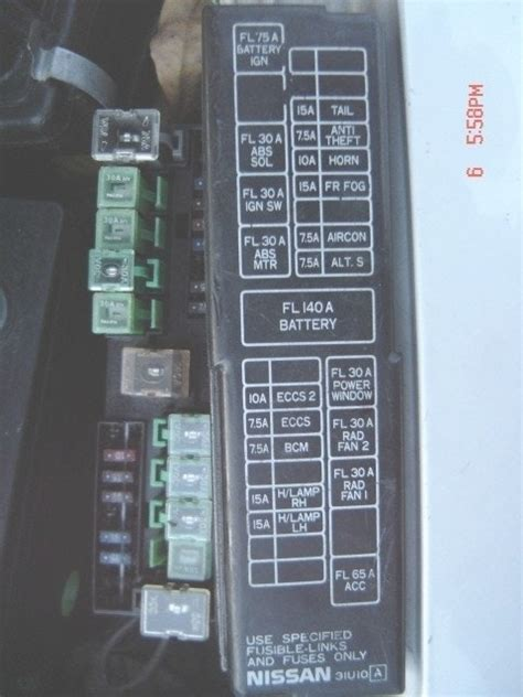 2000 altima fuse box free wiring diagrams