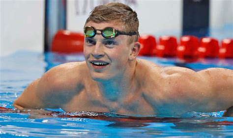 adam peaty avoids cleaning and washing to ensure gold at