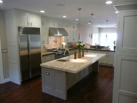 white kitchen cabinets with wood floors design ideas