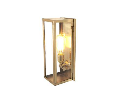 light in the box limited 7650 narrow box wall light internal glass polished brass