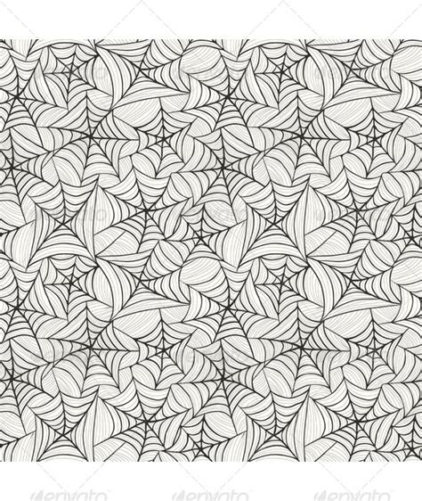 web repeat pattern halloween seamless pattern vector graphic de