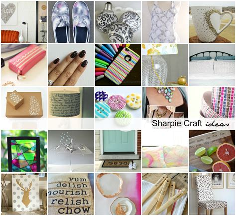 craft projects diy sharpie craft ideas the idea room
