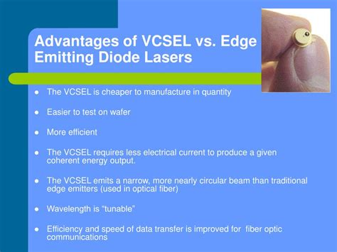 light emitting diode vs laser diode ppt semiconductor lasers powerpoint presentation id 351070