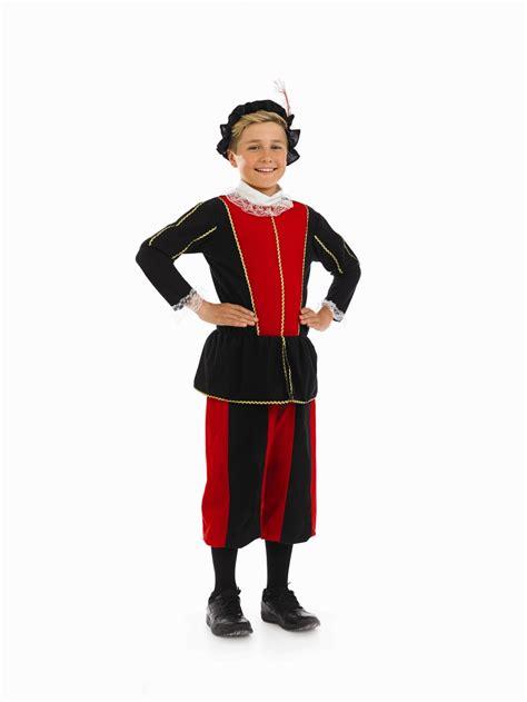 Chicos Original chicos ni 241 o tudor disfraz para ni 241 os childrens