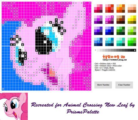 animal crossing pattern generator new leaf pinkie pie animal crossing new leaf pattern by