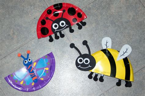 bug crafts for snails and puppy tails b is for bugs