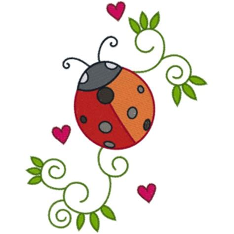 embroidery design ladybug ladybug embroidery designs free machine embroidery