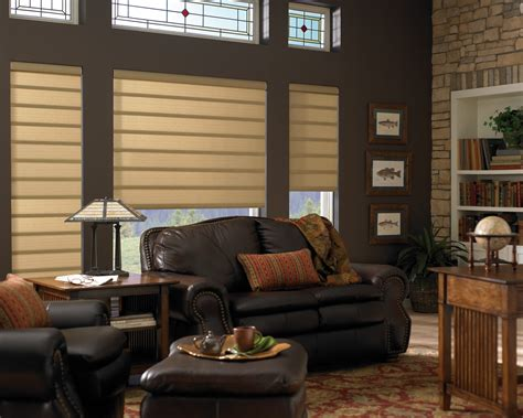 contemporary window blinds hunter douglas vignette modern roman fabric shades