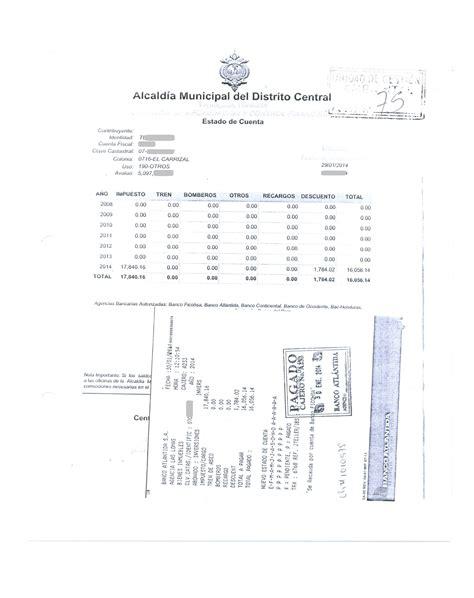 ejemplo de formulario impuestos de inmuebles pago de bienes inmuebles
