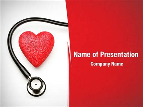 Cardiac Treatment Powerpoint Templates Cardiac Treatment Cardiology Powerpoint Template