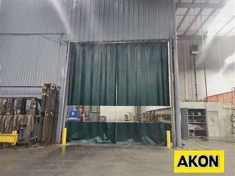 drapery warehouse industrial warehouse partition wall akon curtain and