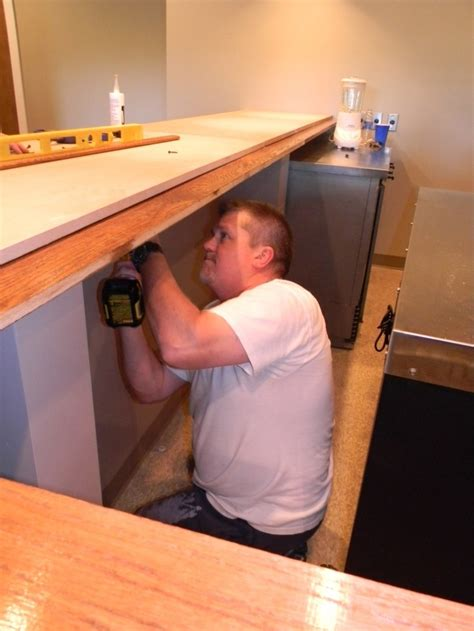 how to install a bar top 20 best images about bar on pinterest