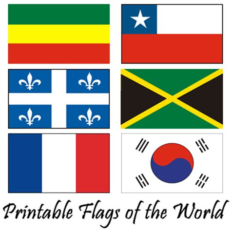 Printable Flags Of The World Free | free printable flags printable world flags