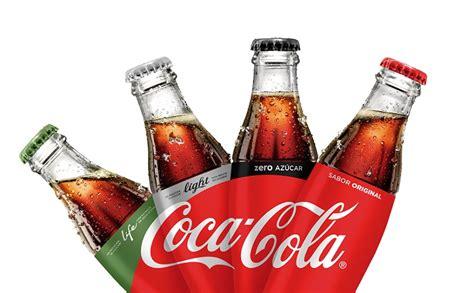 la cola de la coca cola unifica la imagen de sus productos infokioscos