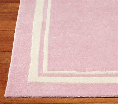 pink nursery rug pottery barn pink rug things i