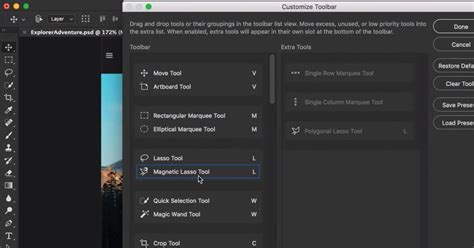 how to customize the toolbar in photoshop cc adobe photoshop cc updated with custom toolbars touch ui