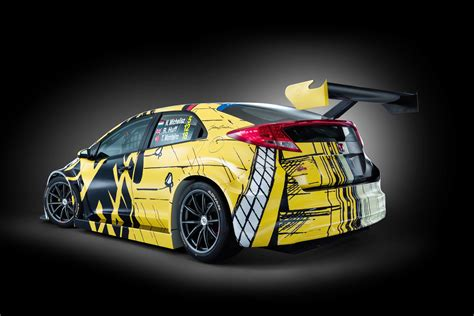 michel vaillant inspired honda art car   race debut