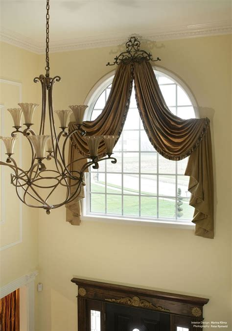 two story window drapes two story window treatments curtain ideas pinterest