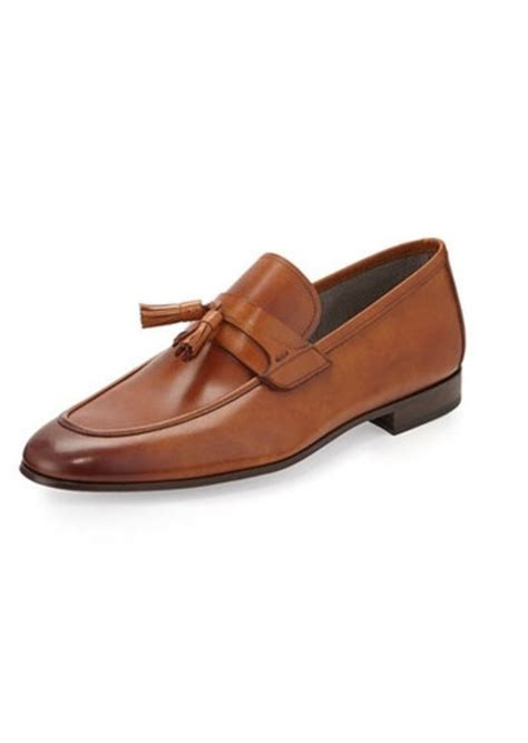 magnanni shoes sale magnanni for neiman vekio tassel slip on leather loafer