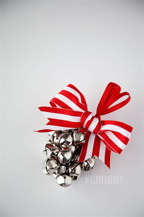 jingle bell ornament tutorial u create