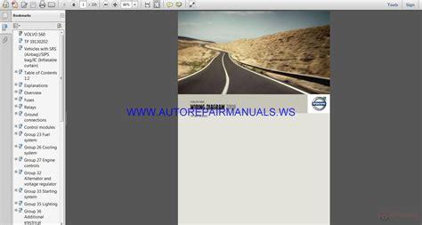 volvo s60 tp39130202 wiring diagram manual auto repair